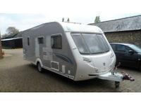 2008 sterling onyx elite caravan 4 berth
