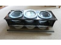 Phillips warming hostess trolly in good condition. Portable