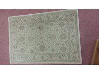 polypropelene cream rug 6 x4 ft