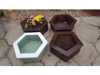 Wooden Planters various shapes and sizes available