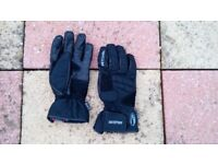 Richa Winter Motorcycle Gloves – Black - XL