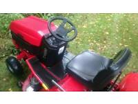 Westwood T1600 Garden Tractor Mower with Grass Collector