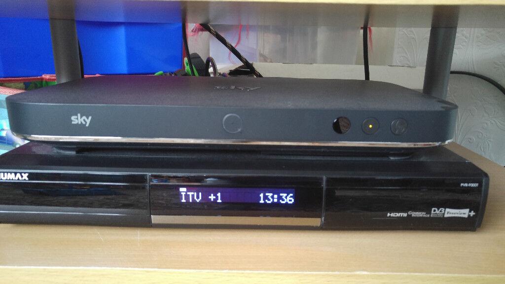 Humax PVR-9300T Twin Tuner 500GB Recorder