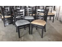 solid wood dinning chairs, restaurant seating