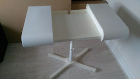 IKEA Laptop desk white plastic