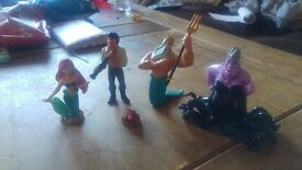 Areil and friends figurines