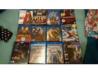 Marvel movie blu Ray Collection captain america, iron man, thor 14 films