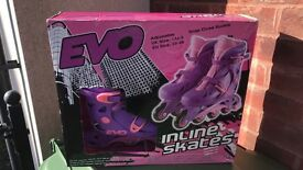 In-line roller skates