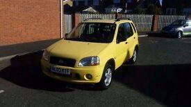 2003 suzuki ignis 1.3 gl low miles spotless little car
