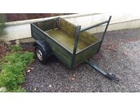 Small Car Trailer, 3ft by 4.5 ft