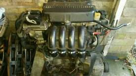 Fiat punto 1.2 16v engine c/w ancillaries
