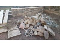 Sandstone and slabs/coping stone