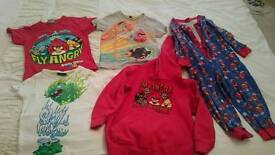 Angry birds clothes 110 cm