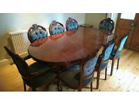 Mahogany Dining Suite