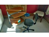 PC Desk and Chair