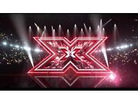 X factor Manchester tour BLOCK C FLOOR SEATS UPFRONT WOW ! X4 tickets LIVE