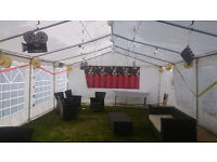 TOM`S MARQUEE, GAZEBO, PARTY TENT HIRE