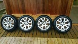 19 Inch Alloy wheels 225/50 R19