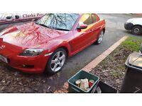 Mazda rx8 231 bhp, 12 months mot, excellent condition