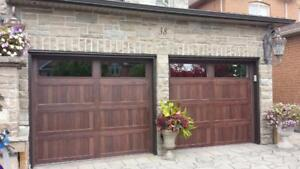 MAINTENANCE FREE Insulated garage doors BEST PRICES call 4168379250