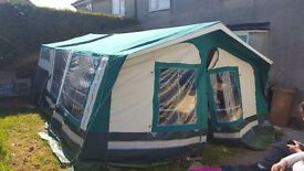 Sunncamp holiday 350 SE trailer tent