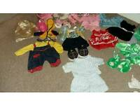 Build a Bear with clothes and £5 off voucher