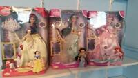brass key porcelain disney princess dolls