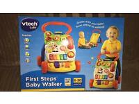 First steps baby walker brand new in box