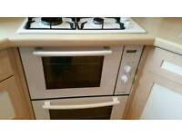 Cooker grill and gas hob