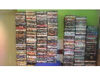 Job lot DVDs approx 700