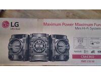 LG mini Hi-Fi system