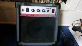 Small practice amplifier