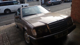 Classic Mercedes 300ce coupe, very rare, 1988 registered