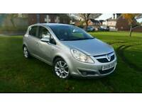 Vauxhall corsa design 2008 1.4 automatic low mileage 3 months warranty