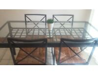 Ikea granas dining table and chairs