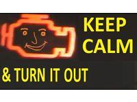 Mobile mechanic london Car servicing london Engine management light Repair Engine repair