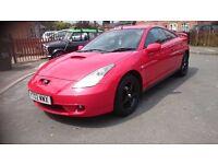 2002 TOYOTA CELICA 1.8 VVTI...CLEAN CAR QUICK SALE...