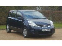 NISSAN NOTE ACENTA DCI 59PLATE 2009 FACE LIFT MODEL DIESEL MANUAL 106000 MILES FULL SERVICE HISTORY