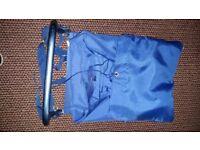 Rigid back pack frame