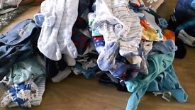 Bundle of baby boy clothes newborn to 0-3 next f&f mothercare