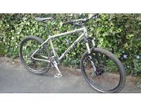 whyte 19 steel hardtail mountain bike + 27.5 wheel compatible not trek,specialized ,cube ,giant