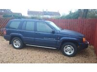 Jeep grand cherokee 4x4 for spairs or repairs