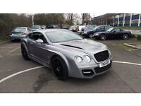 Bentley Continental GT Custom BodyKit Block Quad Exhausts W12 Head Turner PX GTR Maserati M5 Porche