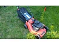 Sovereign petrol lawn mover