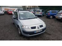 FABULOUS RENAULT MEGANE 1.4 PETROL WITH ONLY 64,000 MILES FROM NEW AND WILL HAVE FULL 12 MONTHS MOT!