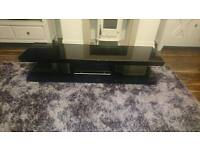 Black TV unit