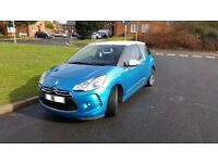 2015 Citroen DS3 1.2 PureTech S/S Style Sat Nav Petrol Hatchback Special Edition Very Economy