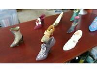 Elegant ornament shoe collection