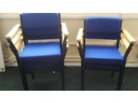 STACKING CHAIRS & ARMCHAIRS blue, BANQUETING CHAIRS