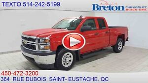 2015 CHEVROLET SILVERADO 1500 4WD DOUBLE CAB SEULEMENT 7996KM V8